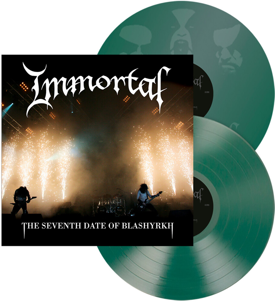 Immortal - The Seventh Date of Blashyrkh [Indie Exclusive Limited Edition Green 2LP]