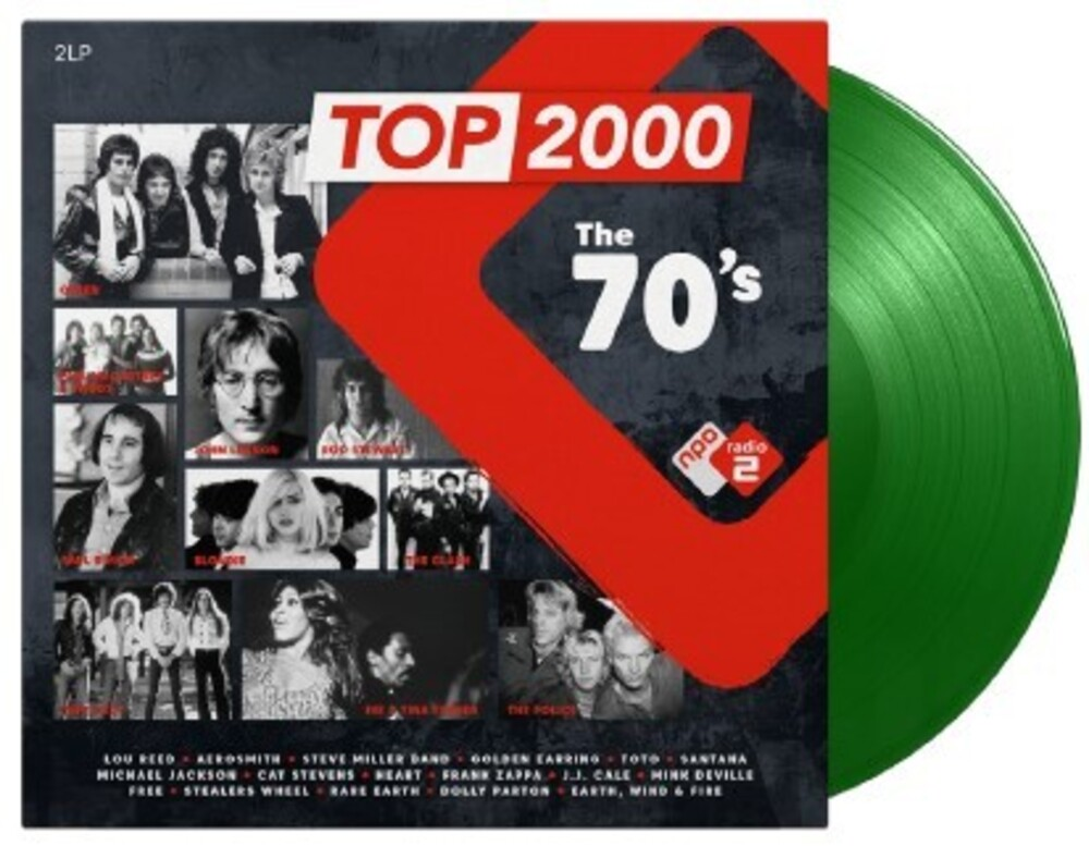 Top 2000 The 70s / Various - Top 2000: The 70's / Various [Colored Vinyl] (Gate) (Grn)
