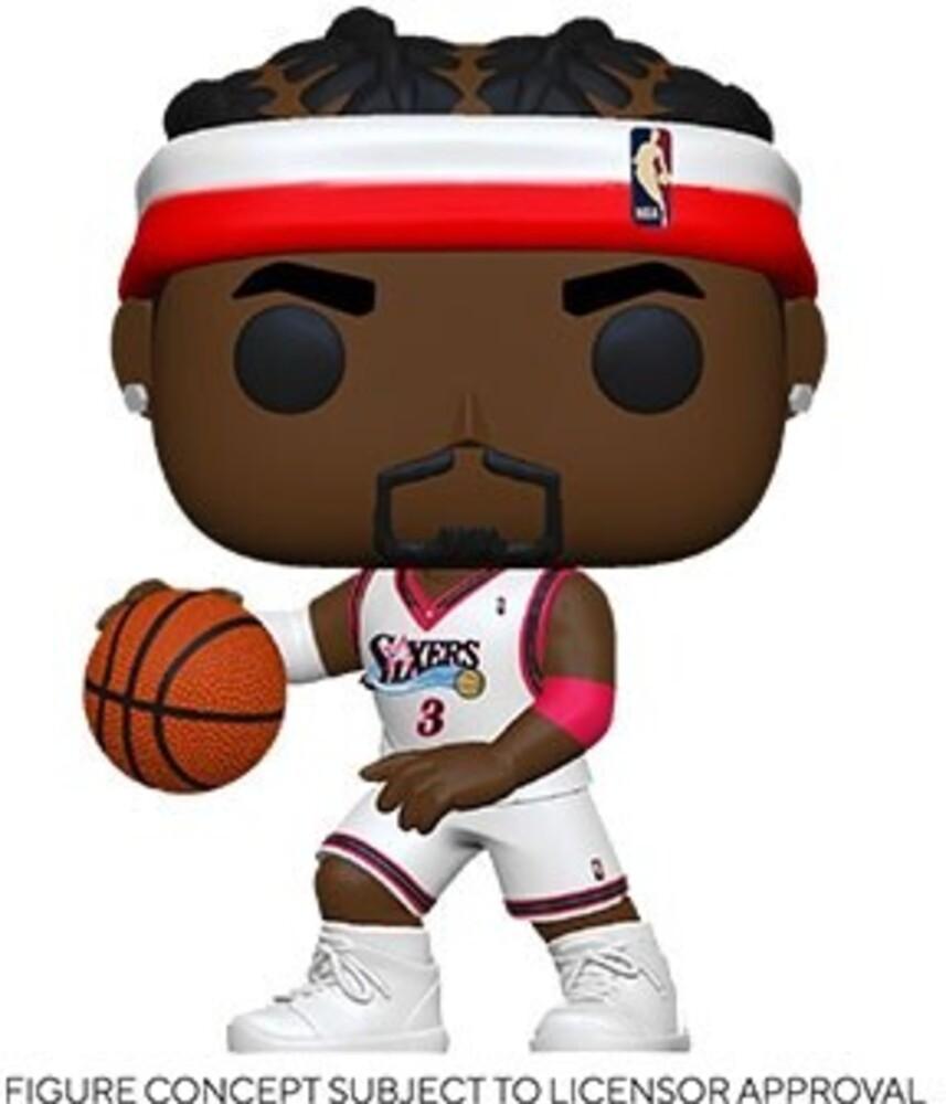 - FUNKO POP! NBA: Legends- Allen Iverson (Sixers Home)