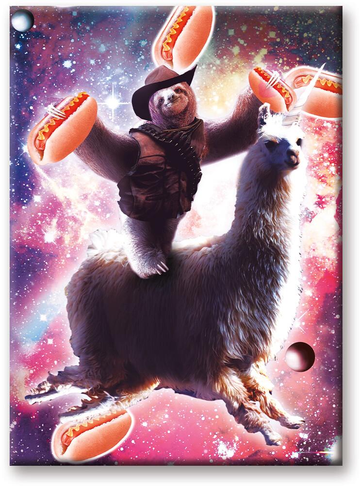 Random Galaxy Cowboy 2.5 X 3.5 Flat Magnet - Random Galaxy Cowboy 2.5 x 3.5 Flat Magnet