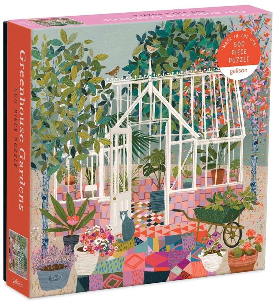 - Greenhouse Gardens 500 Piece Puzzle