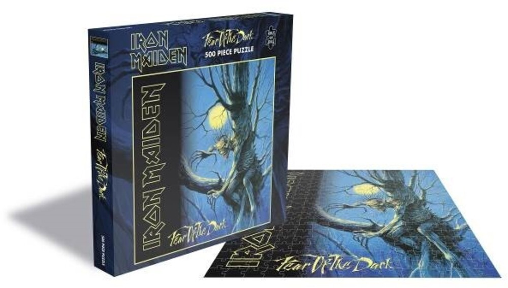 - Iron Maiden Fear Of The Dark (500 Piece Jigsaw Puzzle)