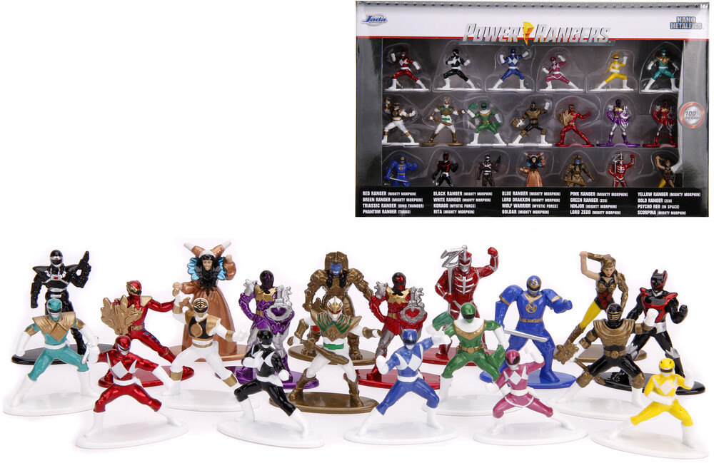 - Nano Metalfigs Power Rangers 20 Pk Wave 1 (Clcb)