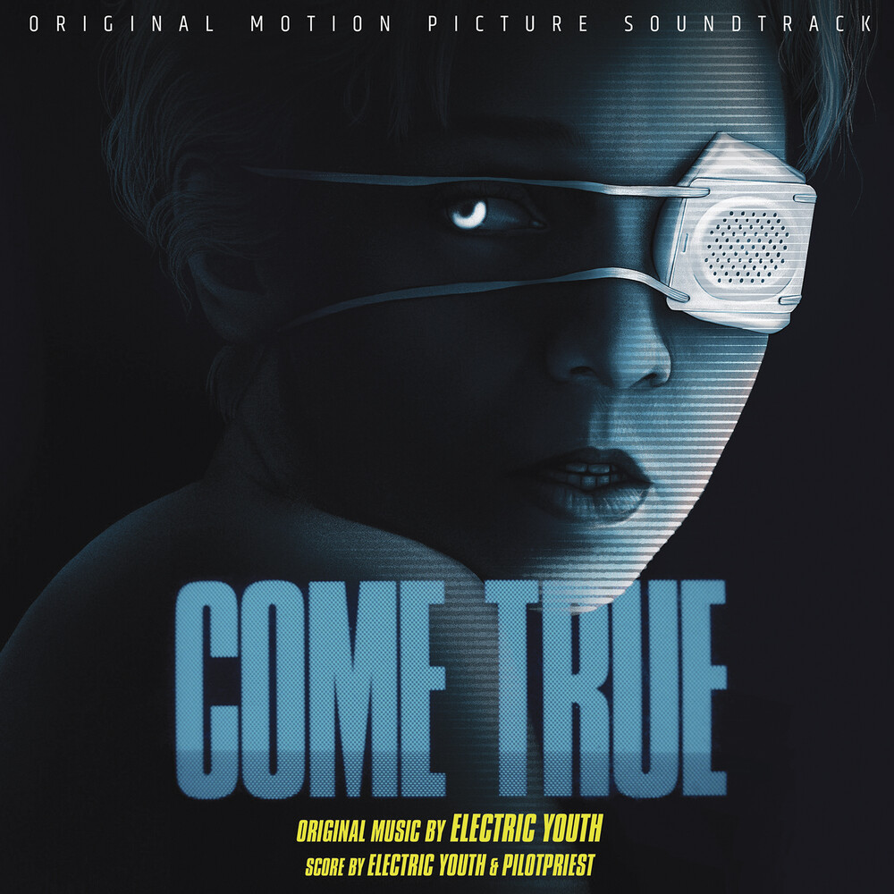 Electric Youth & Pilotpriest (Blue) (Colv) (Gate) - Come True / O.S.T. (Cyan Blue With Red & Yellow)
