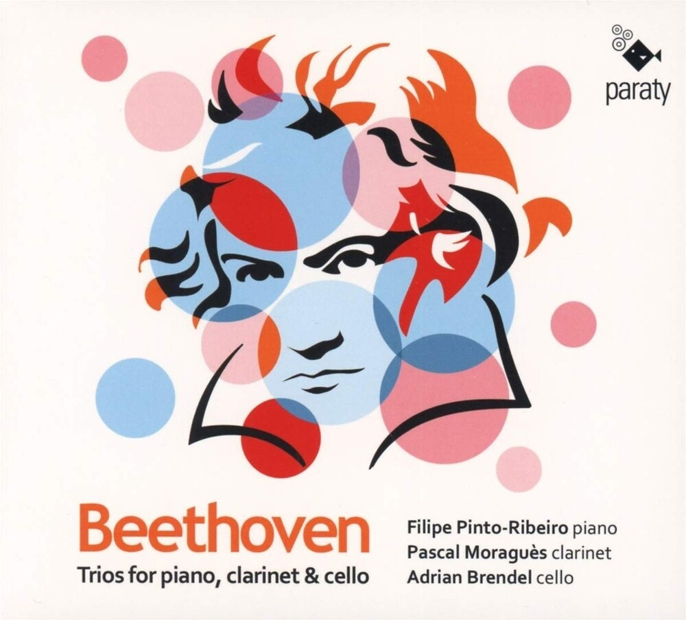 Beethoven / Pinto-Filipe Ribeiro  / Moragues,Pascal - Beethoven: Trios For Piano Clarinet & Cello (Spa)