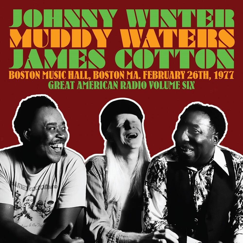 Johnny Winter  & Friends - Great American Radio Vol 6 (Uk)
