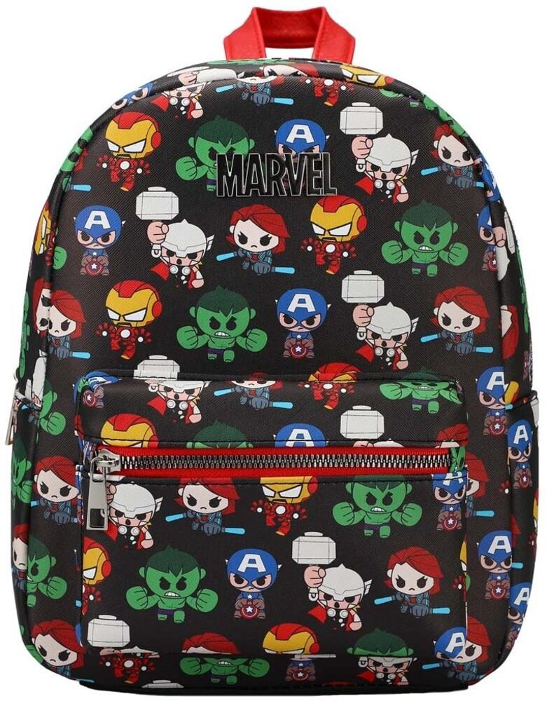 - Marvel Chibi Printed Mini Backpack (Back) (Mult)