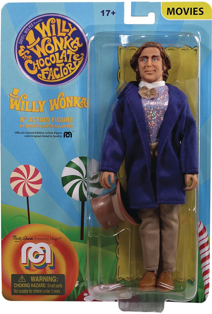 - Mego Willy Wonka Gene Wilder 8in Af (Afig) (Clcb)