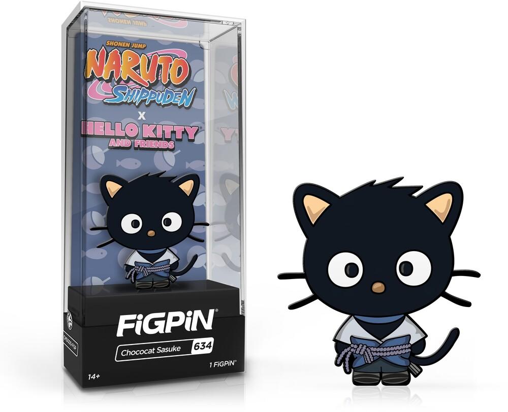 - FiGPiN Naruto Shippuden X Hello Kitty - Chococat Sasuke #634
