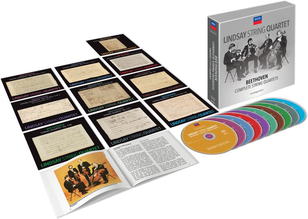 Beethoven / Lindsay String Quartet - Beethoven: Complete String Quartets (Box) [Limited Edition]