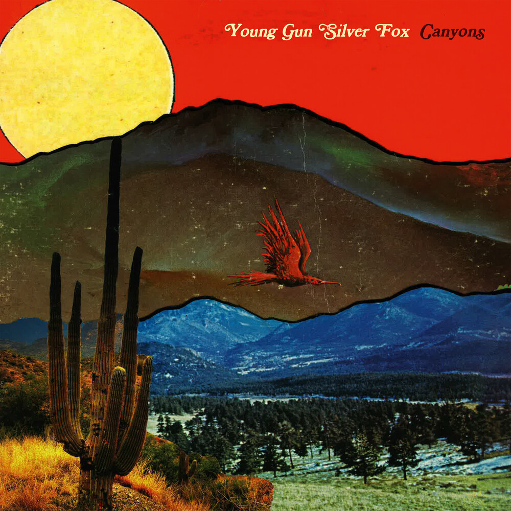 Young Gun Silver Fox - Canyons [Indie Exclusive] (Opaque Red Vinyl) [Colored Vinyl] (Red)