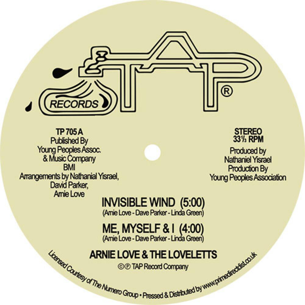 Arnie Love - Invisible Wind