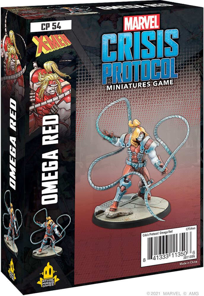 Marvel Crisis Protocol Omega Red Character Pack - Marvel Crisis Protocol Omega Red Character Pack