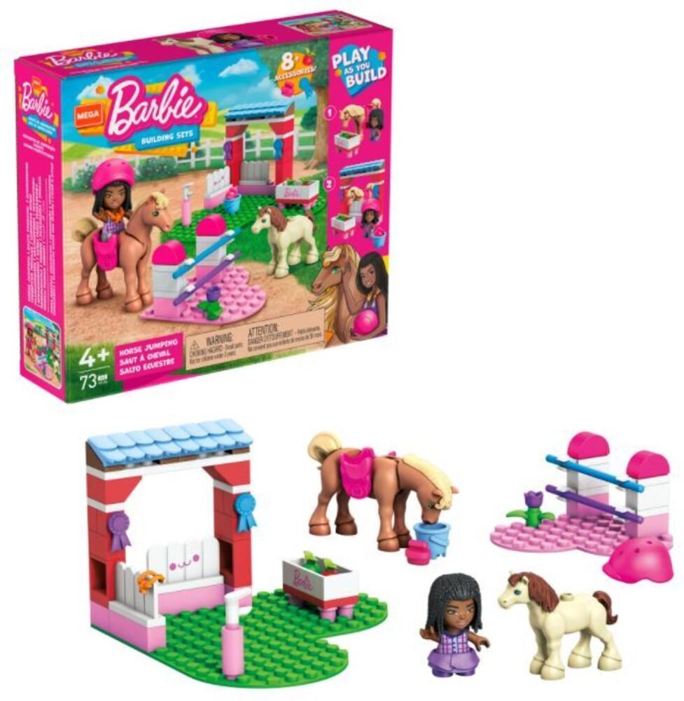 Mega Brands Barbie - Barbie Horse Jumping (Fig) (Brik)