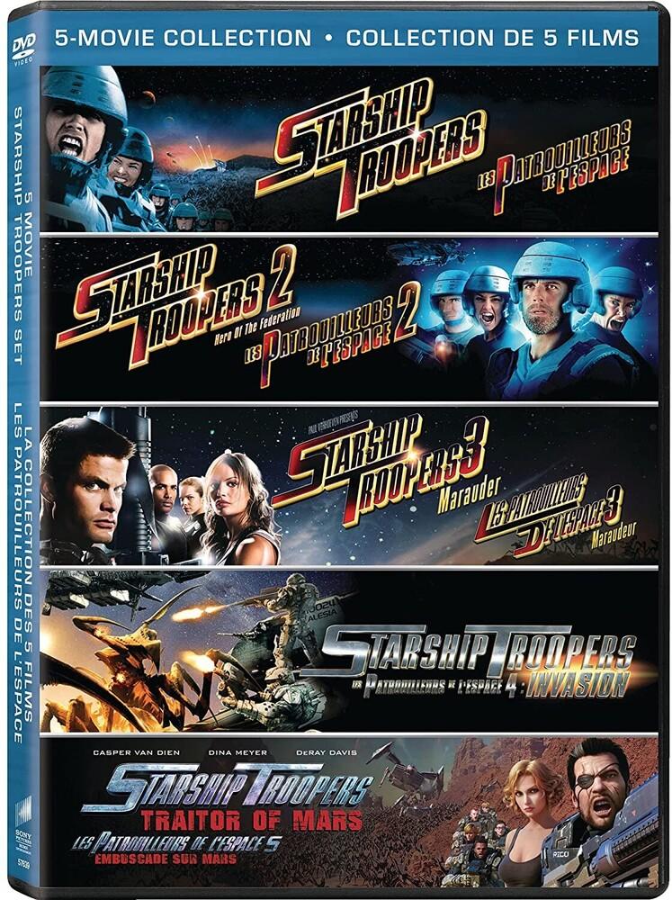 Starship Troopers / Hero of Federation / Marauder - Starship Troopers / Starship Troopers 2: Hero Of The Federation / Starship Troopers 3: Marauder / Starship Troopers: Invasion /
