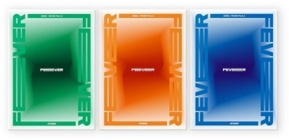 Ateez - Zero: Fever Part 3 (Radnom Cover) (incl. 96pg Photobooklet, Sticker, 8pc Photocard Set + Photocard)