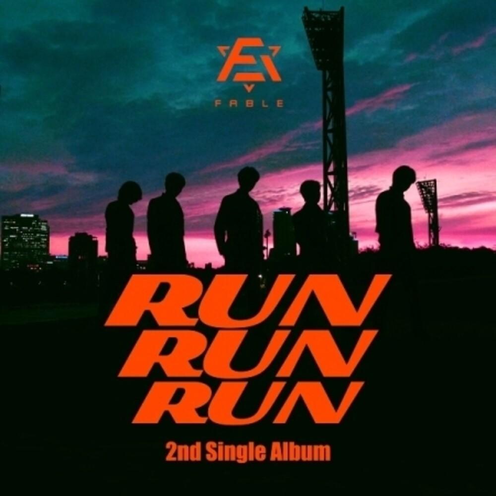 F.Able - Run Run Run [With Booklet] (Phot) (Asia)