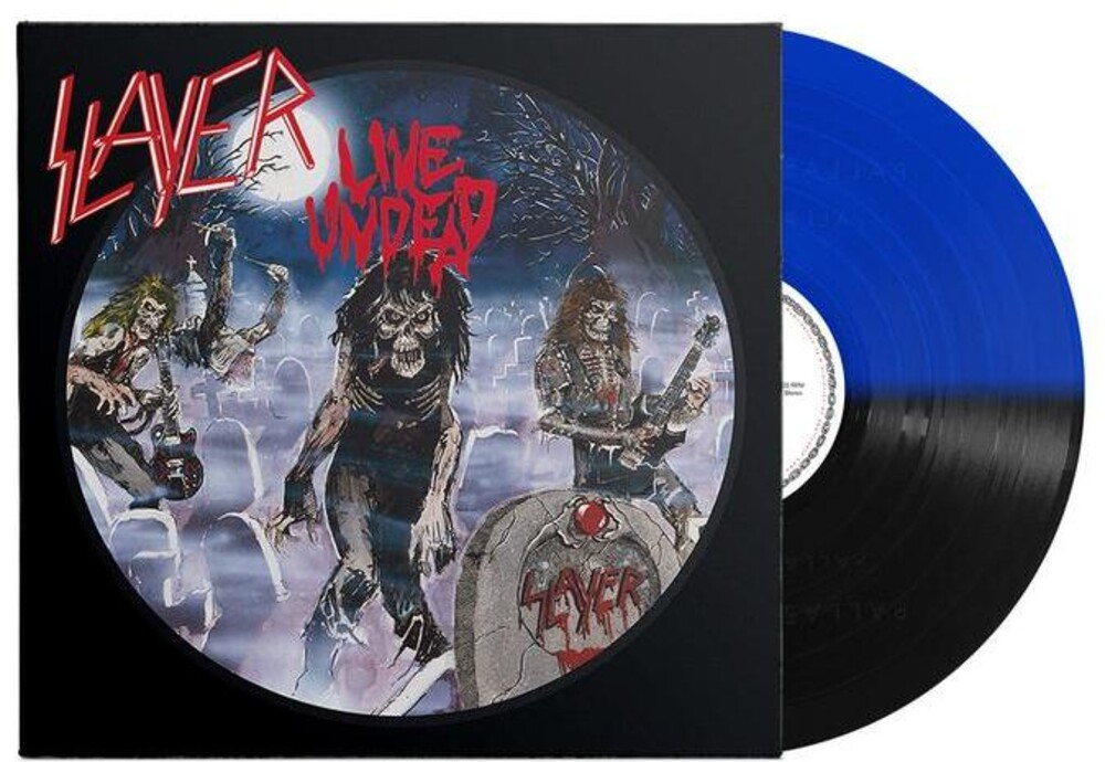 Slayer - Live Undead (Blk) (Blue) [Colored Vinyl]