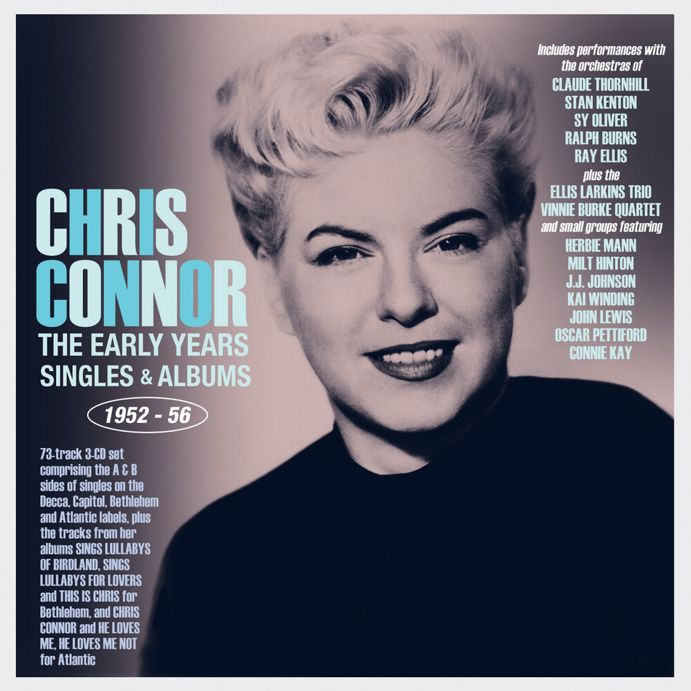 Chris Connor - Early Years: Singles & Albums 1952-56