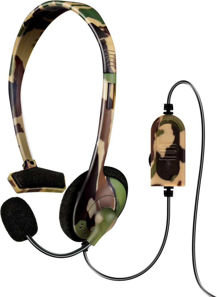- DreamGear Broadcaster Wired Headset: Camo for PlayStation 4
