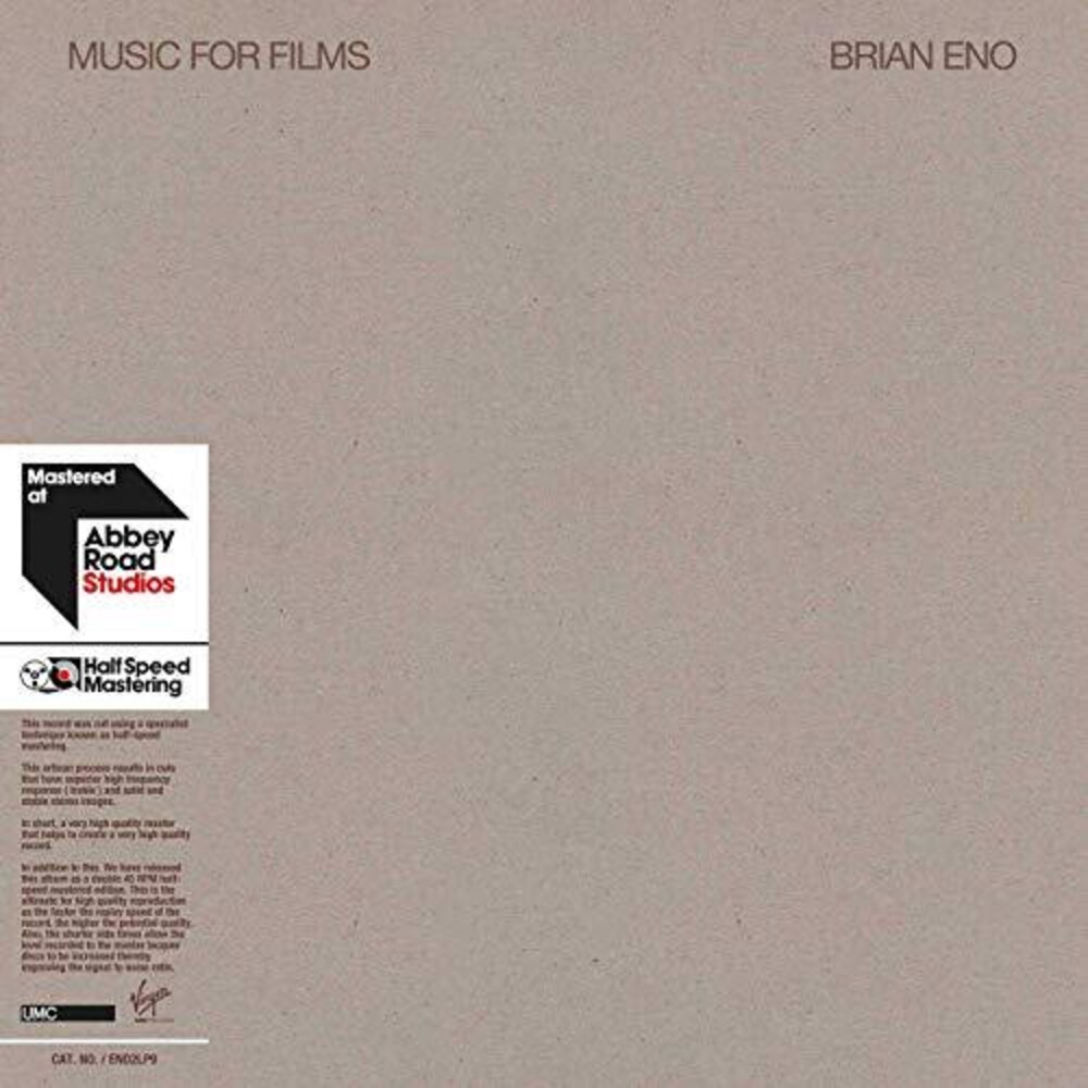 Brian Eno - Music For Films [Import LP]