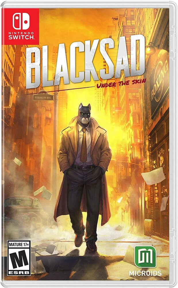 - Blacksad: Under The Skin Limited Edition for Nintendo Switch