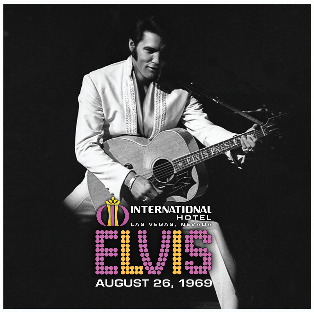 Elvis Presley - Live at the International Hotel, Las Vegas, NV August 26, 1969