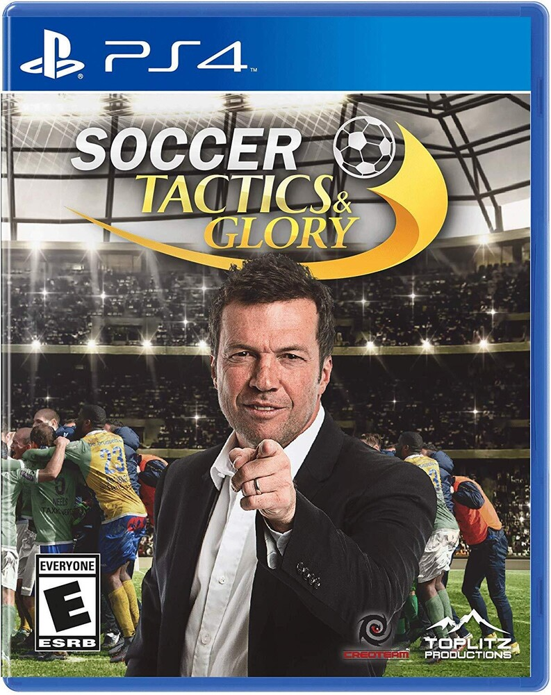 - Soccer, Tactics & Glory for PlayStation 4