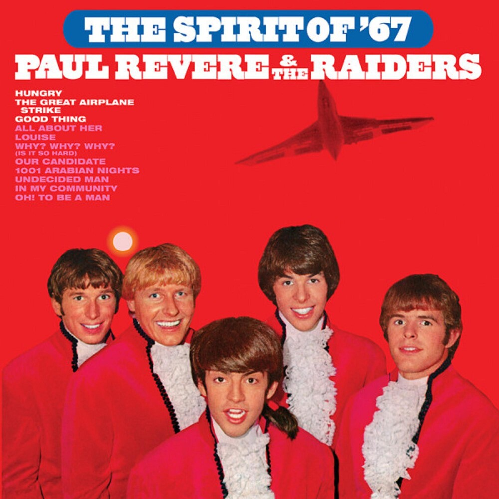 Paul Revere & Raiders - Spirit Of '67 (Audp) (Blue) [Colored Vinyl] (Gate) [Limited Edition]