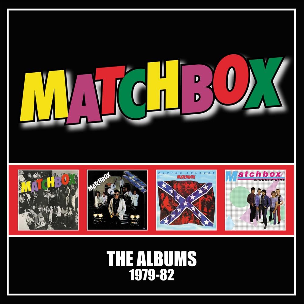 Matchbox - Albums 1979-1982 (Box) (Uk)
