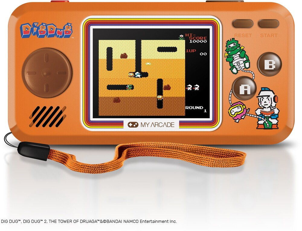 - My Arcade DGUNL-3243 DIG DUG POCKET PLAYER