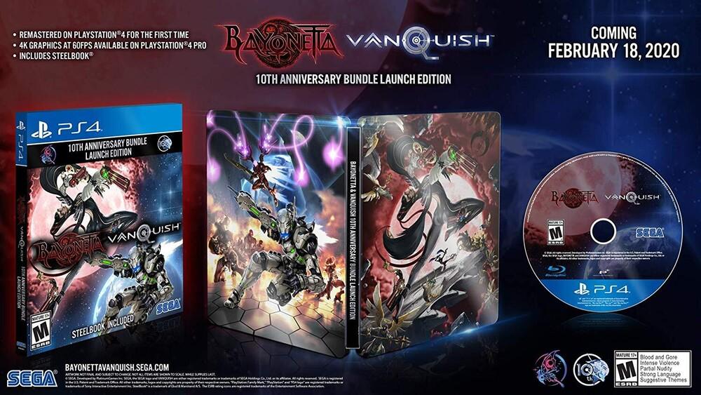 Ps4 Bayonetta & Vanquish 10th Anniversary Bundle - Bayonetta & Vanquish 10th Anniversary Bundle