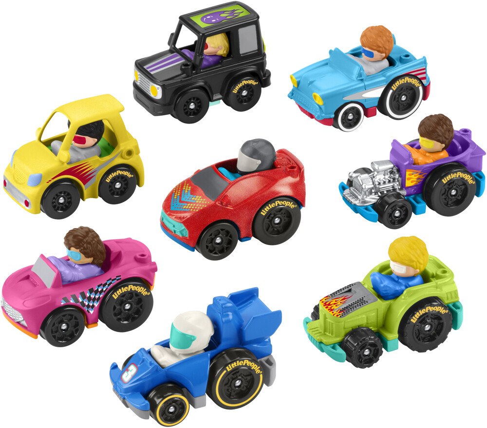 Little People - Fisher Price - Little People New Wheelies Vehicles Assortment
