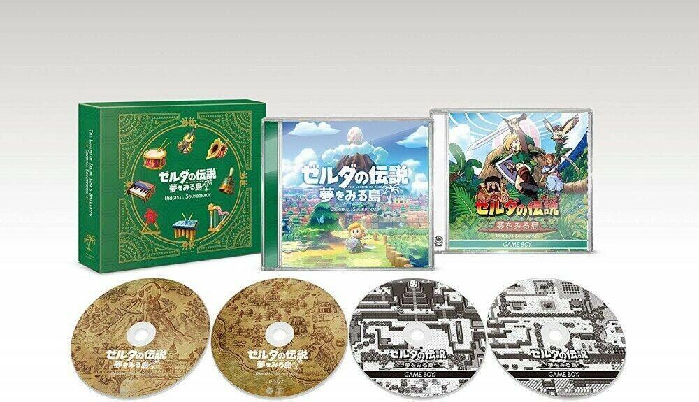 Legend Of Zelda Links Awakening / OST Jpn - Legend of Zelda: Link's Awakening Soundtrack (4 CD Set)