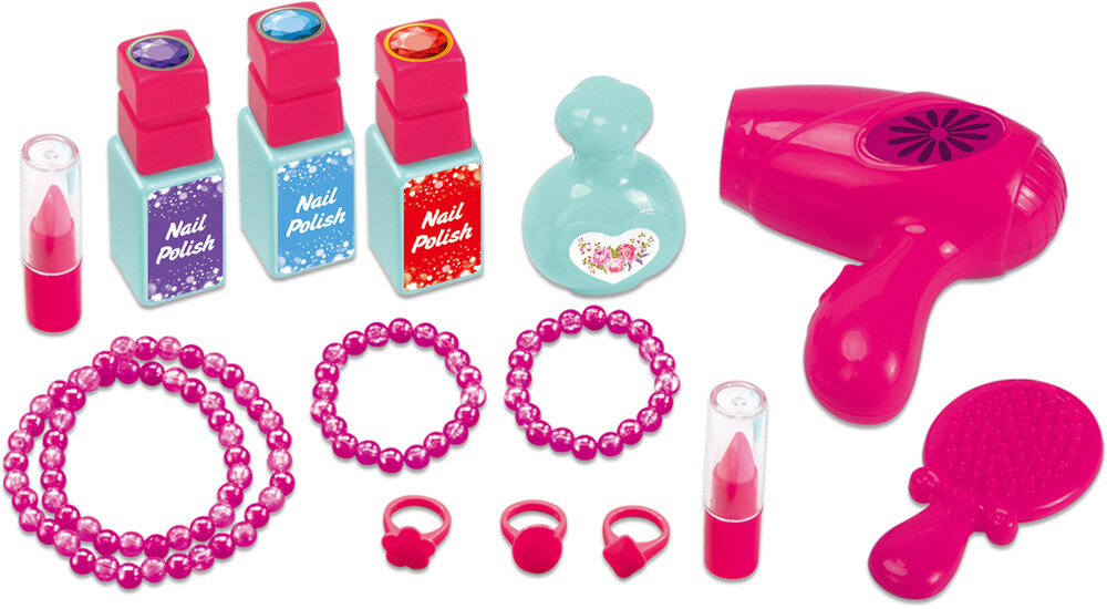 Playsets - 'Lil Beauty Mobile Suitcase Playset