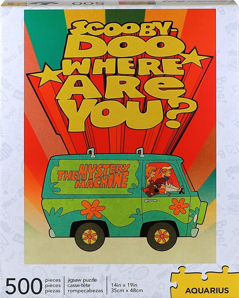 Scooby Doo Where Are You? 500 PC Puzzle - Scooby Doo Where Are You? 500 Pc Puzzle