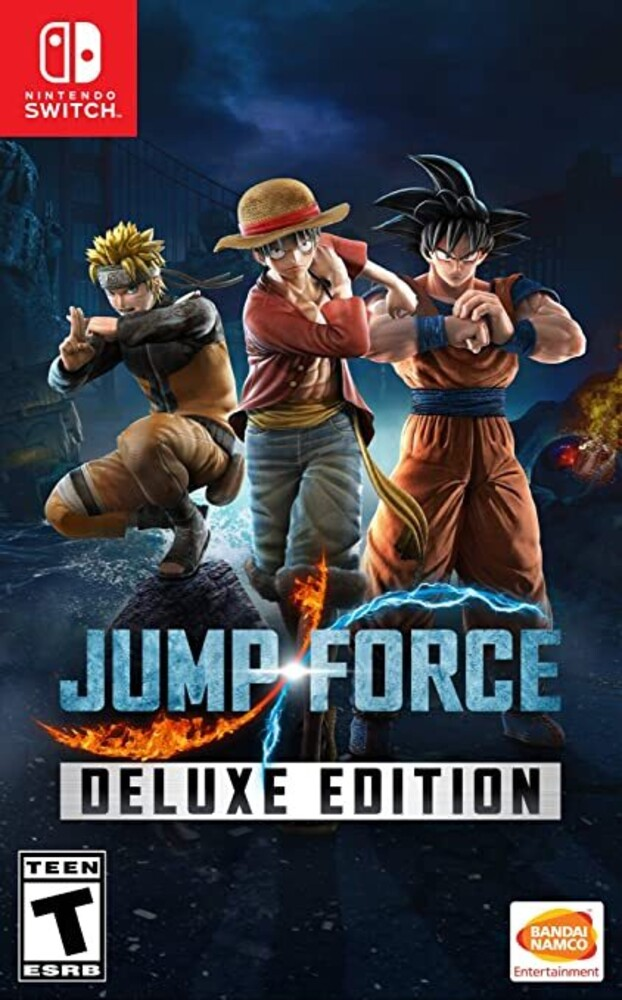 Swi Jump Force Deluxe Edition - Jump Force Deluxe Edition