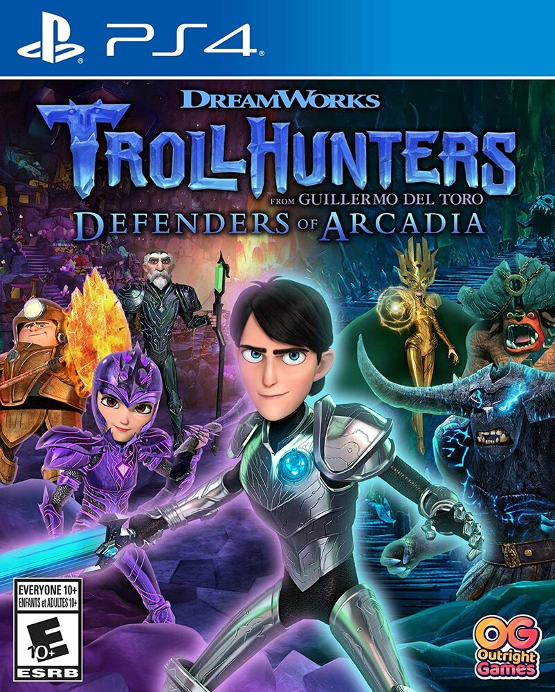 - Trollhunters Defenders Of Arcadia