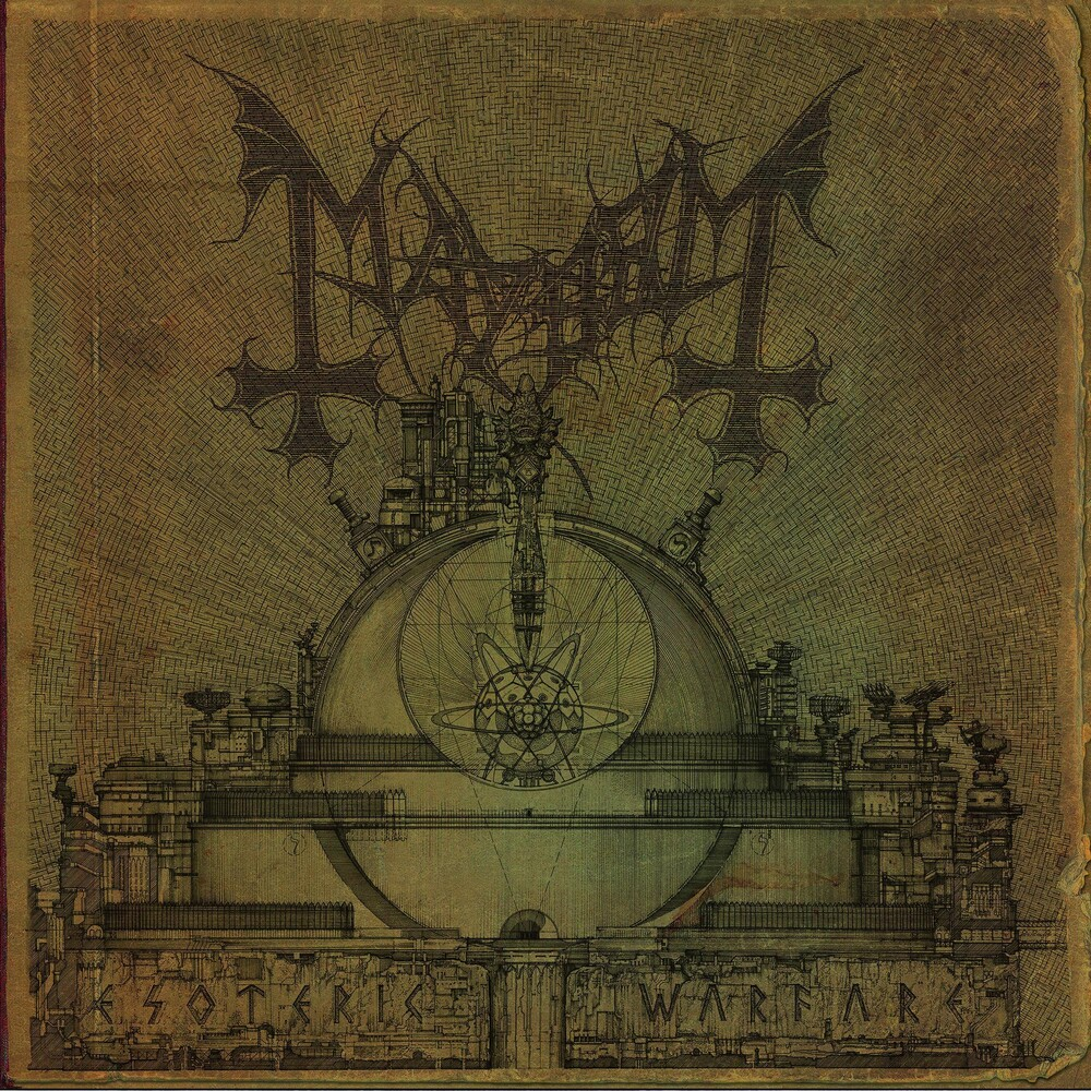 Mayhem - Esoteric Warfare (Colv) (Gate) (Grn) (Ltd)