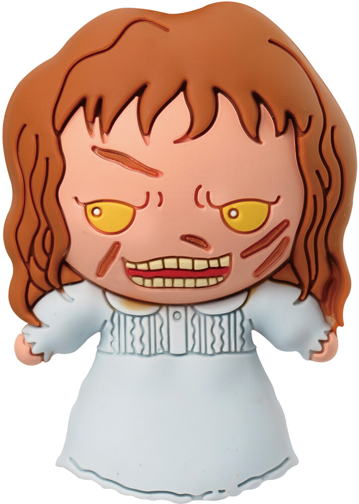 Wb Horror - Regan Exorcist 3D Foam Magnet - WB Horror - Regan Exorcist 3D Foam Magnet