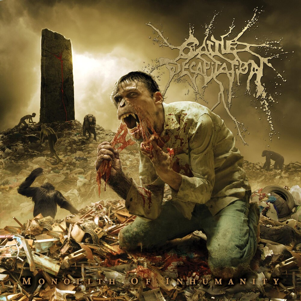 Cattle Decapitation - Monolith Of Inhumanity [Bone & Blood LP]