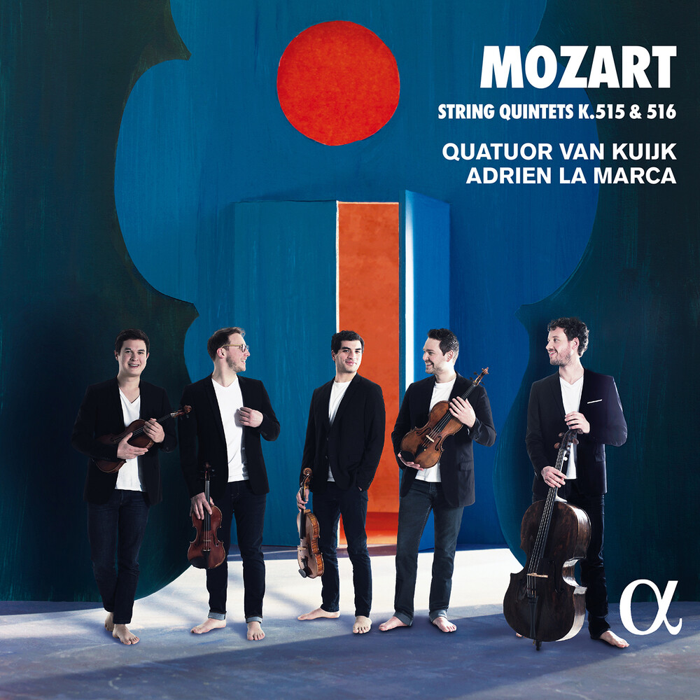 Mozart / Quatuor Van Kuijk / Marca - String Quintets 515 & 516
