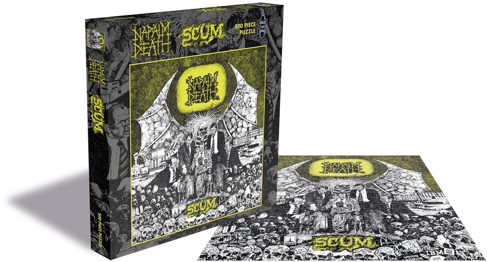Napalm Death Scum (500 Piece Jigsaw Puzzle) - Napalm Death Scum (500 Piece Jigsaw Puzzle)