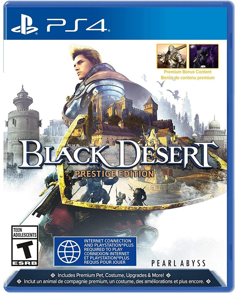 - Ps4 Black Desert - Prestige Edition