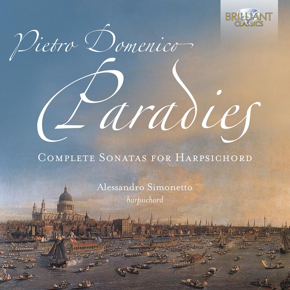 Paradies / Simonetto - Complete Sonatas Harpsichord (2pk)