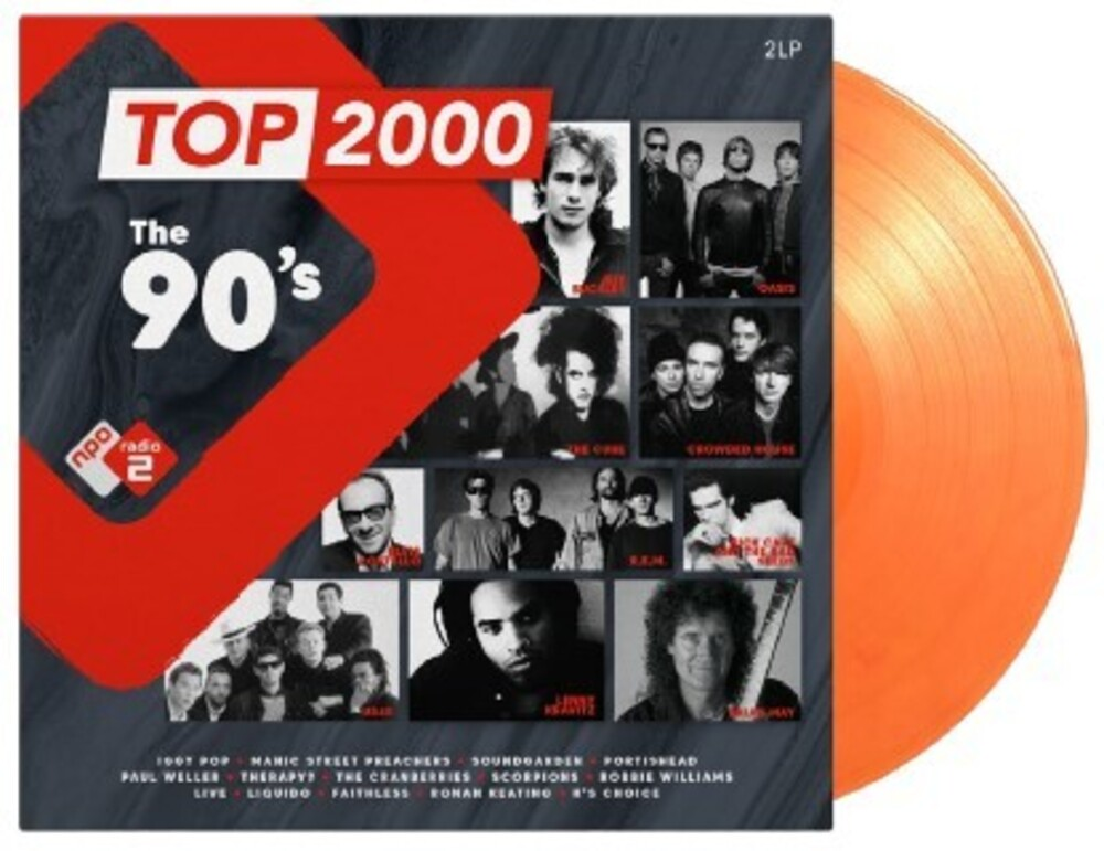 Top 2000 The 90s / Various - Top 2000: The 90's / Various [Colored Vinyl] (Gate) [Limited Edition]