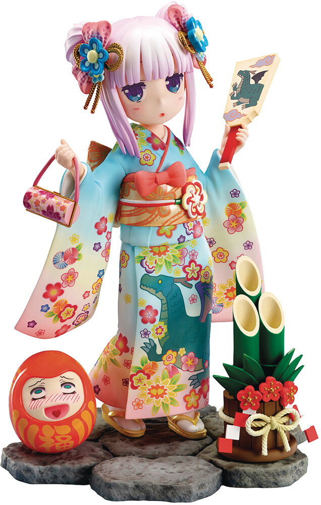Good Smile Company - Good Smile Company - Miss Kobayashis Dragon Maid Kanna Finest Kimono1/7 PVC Figure