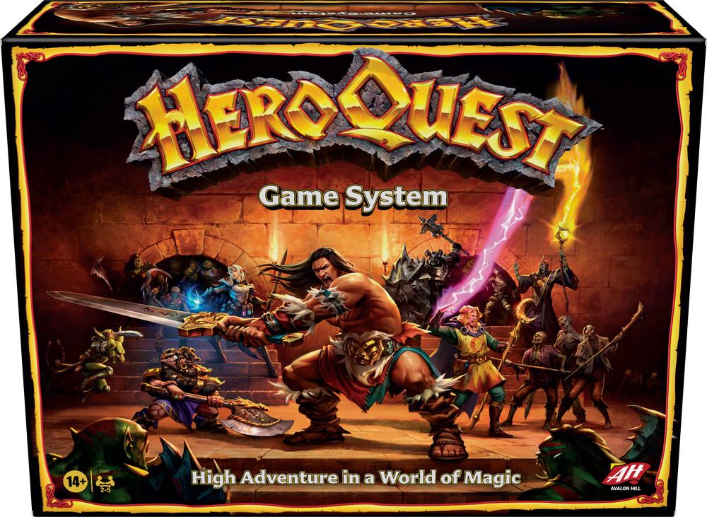 Heroquest - Hasbro Gamming - Heroquest