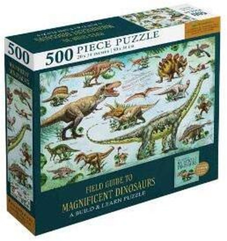 - Field Guide to Magnificent Dinosaurs: Jigsaw Puzzle for Kids andAdults