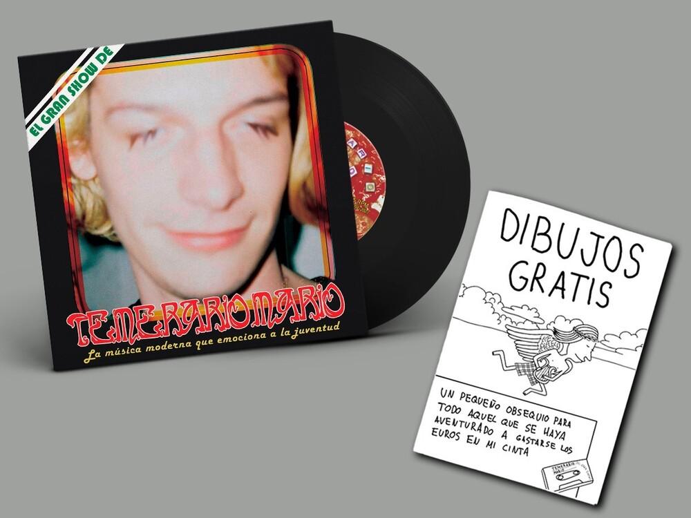 Temerario Mario - La Musica Moderna Que Emociona A La Juventud (7 + Fanzine)